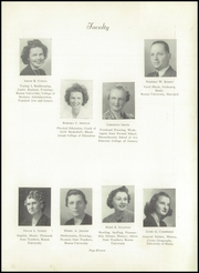 Page 17, 1945 Edition, Foxboro High School - Red Fox Yearbook (Foxboro, MA) online yearbook collection