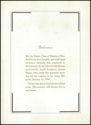 Page 8, 1945 Edition, Foxboro High School - Red Fox Yearbook (Foxboro, MA) online yearbook collection