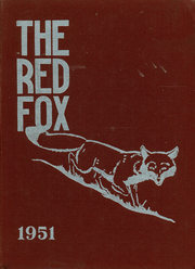 Page 1, 1951 Edition, Foxboro High School - Red Fox Yearbook (Foxboro, MA) online yearbook collection