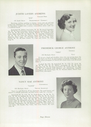 Page 15, 1951 Edition, Foxboro High School - Red Fox Yearbook (Foxboro, MA) online yearbook collection