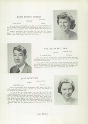 Page 17, 1951 Edition, Foxboro High School - Red Fox Yearbook (Foxboro, MA) online yearbook collection