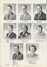 Page 10, 1952 Edition, Foxboro High School - Red Fox Yearbook (Foxboro, MA) online yearbook collection
