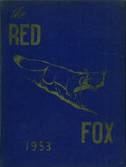 Page 1, 1953 Edition, Foxboro High School - Red Fox Yearbook (Foxboro, MA) online yearbook collection