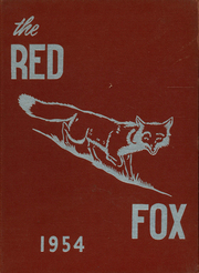 1954 Edition, Foxboro High School - Red Fox Yearbook (Foxboro, MA)