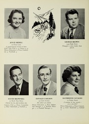 Page 16, 1953 Edition, Westwood High School - Green Years Yearbook (Westwood, MA) online yearbook collection
