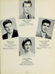 Page 17, 1957 Edition, Westwood High School - Green Years Yearbook (Westwood, MA) online yearbook collection