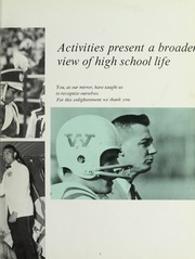 Page 11, 1968 Edition, Westwood High School - Green Years Yearbook (Westwood, MA) online yearbook collection
