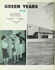 Page 6, 1968 Edition, Westwood High School - Green Years Yearbook (Westwood, MA) online yearbook collection