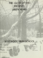 Page 5, 1984 Edition, Westwood High School - Green Years Yearbook (Westwood, MA) online yearbook collection