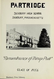 Page 5, 1956 Edition, Duxbury High School - Partridge Yearbook (Duxbury, MA) online yearbook collection
