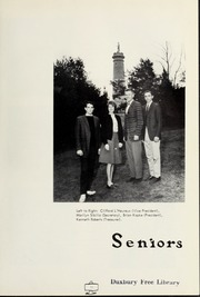 Page 15, 1963 Edition, Duxbury High School - Partridge Yearbook (Duxbury, MA) online yearbook collection