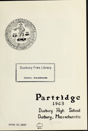 Page 5, 1963 Edition, Duxbury High School - Partridge Yearbook (Duxbury, MA) online yearbook collection