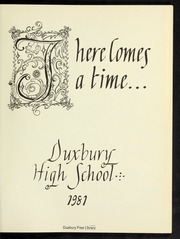 Page 5, 1981 Edition, Duxbury High School - Partridge Yearbook (Duxbury, MA) online yearbook collection