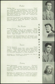 Page 14, 1943 Edition, Auburn High School - Cauldron Yearbook (Auburn, MA) online yearbook collection