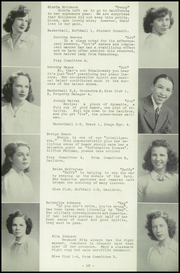 Page 17, 1943 Edition, Auburn High School - Cauldron Yearbook (Auburn, MA) online yearbook collection