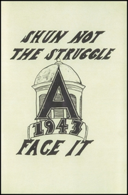 Page 3, 1943 Edition, Auburn High School - Cauldron Yearbook (Auburn, MA) online yearbook collection