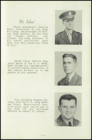 Page 7, 1943 Edition, Auburn High School - Cauldron Yearbook (Auburn, MA) online yearbook collection
