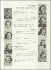 Page 11, 1944 Edition, Auburn High School - Cauldron Yearbook (Auburn, MA) online yearbook collection