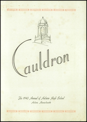 Page 3, 1945 Edition, Auburn High School - Cauldron Yearbook (Auburn, MA) online yearbook collection