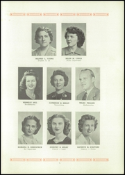 Page 7, 1945 Edition, Auburn High School - Cauldron Yearbook (Auburn, MA) online yearbook collection