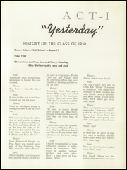 Page 17, 1950 Edition, Auburn High School - Cauldron Yearbook (Auburn, MA) online yearbook collection