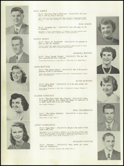 Page 8, 1950 Edition, Auburn High School - Cauldron Yearbook (Auburn, MA) online yearbook collection
