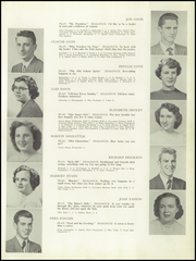 Page 9, 1950 Edition, Auburn High School - Cauldron Yearbook (Auburn, MA) online yearbook collection