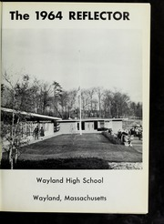 Page 5, 1964 Edition, Wayland High School - Reflector Yearbook (Wayland, MA) online yearbook collection