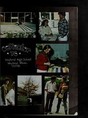 Page 5, 1976 Edition, Wayland High School - Reflector Yearbook (Wayland, MA) online yearbook collection