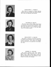 Page 16, 1943 Edition, South Hadley High School - Spotlight Yearbook (South Hadley, MA) online yearbook collection