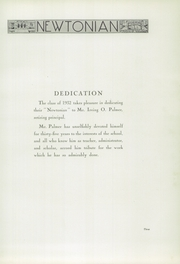 Page 9, 1932 Edition, Newton High School - Newtonian Yearbook (Newton, MA) online yearbook collection