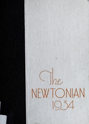 Newton High School - Newtonian Yearbook (Newton, MA) online yearbook collection, 1934 Edition, Page 1