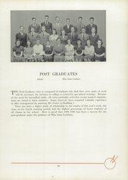 Page 13, 1940 Edition, Newton High School - Newtonian Yearbook (Newton, MA) online yearbook collection
