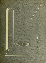 Page 1, 1954 Edition, Newton High School - Newtonian Yearbook (Newton, MA) online yearbook collection