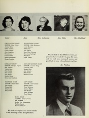 Page 11, 1954 Edition, Newton High School - Newtonian Yearbook (Newton, MA) online yearbook collection