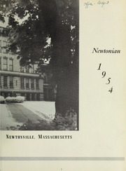 Page 7, 1954 Edition, Newton High School - Newtonian Yearbook (Newton, MA) online yearbook collection