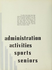 Page 8, 1954 Edition, Newton High School - Newtonian Yearbook (Newton, MA) online yearbook collection