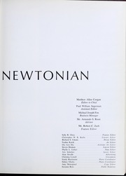 Page 7, 1965 Edition, Newton High School - Newtonian Yearbook (Newton, MA) online yearbook collection