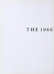 Page 6, 1966 Edition, Newton High School - Newtonian Yearbook (Newton, MA) online yearbook collection