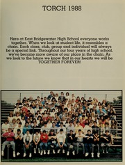 Page 5, 1988 Edition, East Bridgewater High School - Torch Yearbook (East Bridgewater, MA) online yearbook collection