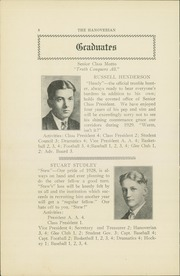 Page 10, 1928 Edition, Hanover High School - Hanoverian Yearbook (Hanover, MA) online yearbook collection
