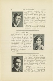 Page 14, 1928 Edition, Hanover High School - Hanoverian Yearbook (Hanover, MA) online yearbook collection