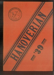 1939 Edition, Hanover High School - Hanoverian Yearbook (Hanover, MA)