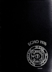 1976 Edition, Holbrook High School - Echo Yearbook (Holbrook, MA)