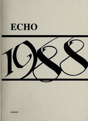 1988 Edition, Holbrook High School - Echo Yearbook (Holbrook, MA)