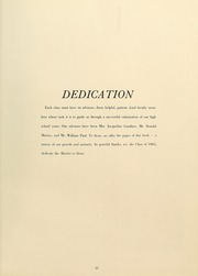 Page 15, 1965 Edition, Southbridge High School - Milestone Yearbook (Southbridge, MA) online yearbook collection