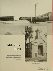 Page 5, 1969 Edition, Southbridge High School - Milestone Yearbook (Southbridge, MA) online yearbook collection