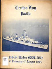 1954 Edition, Higbee (DDR 806) - Naval Cruise Book