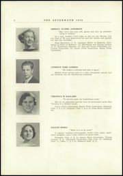 Page 12, 1936 Edition, Millbury High School - Aftermath Yearbook (Millbury, MA) online yearbook collection