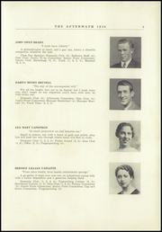 Page 13, 1936 Edition, Millbury High School - Aftermath Yearbook (Millbury, MA) online yearbook collection
